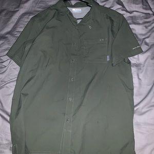 Button down t shirt